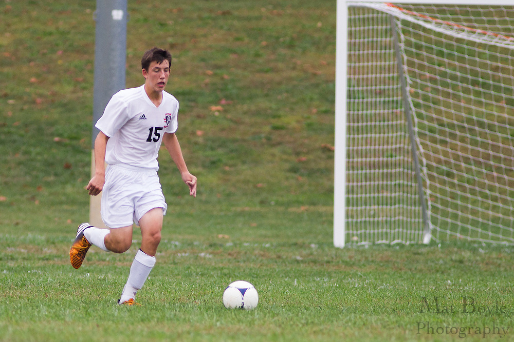 Pitman High School Boys JV Soccer hosts Timber Creek High School at Alcyon Park in Pitman, NJ on Thursday October 4, 2012. (photo / Mat Boyle)