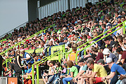 The main stand during the EFL Sky Bet League 2 match between Forest Green Rovers and Grimsby Town FC at the New Lawn, Forest Green, United Kingdom on 5 May 2018. Picture by Shane Healey.