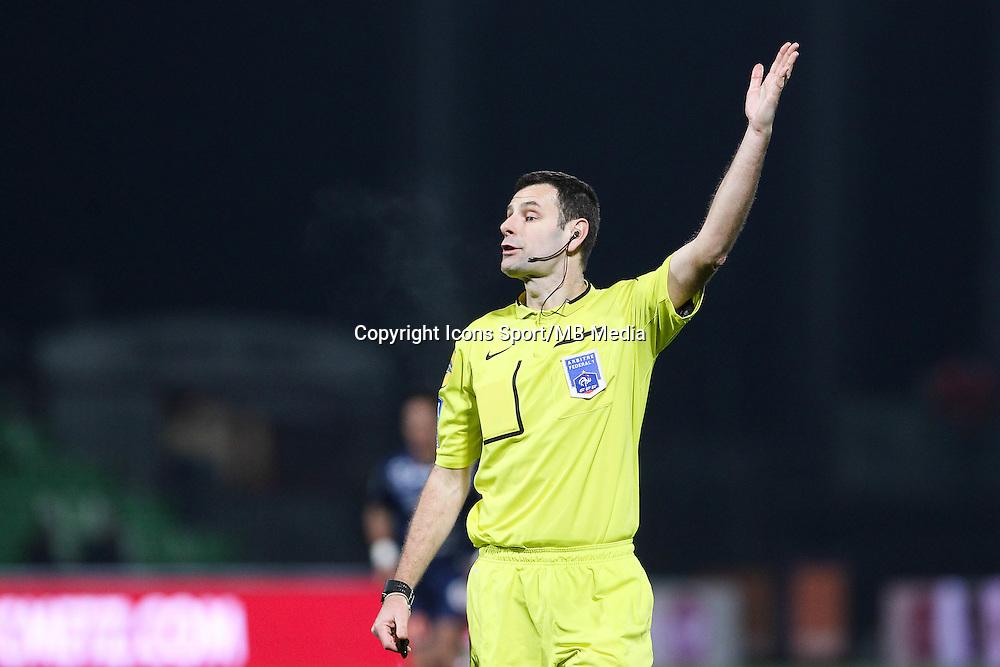 Alexandre CASTRO - 17.01.2015 - Metz / Montpellier - 21eme journee de Ligue 1<br />Photo : Fred Marvaux / Icon Sport