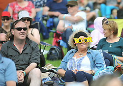 Music fans soaking up the atmosphere at the Westport Festival.<br /> Pic Conor McKeown