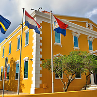 Attorney General Office in Punda, Eastside of Willemstad, Cura&ccedil;ao <br />