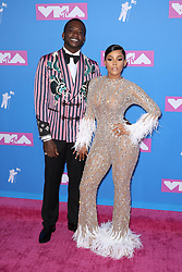 August 21, 2018 - New York City, New York, USA - 8/20/18.Gucci Mane and Keyshia Ka''Oir at the 2018 MTV Video Music Awards held at Radio City Music Hall in New York City..(NYC) (Credit Image: © Starmax/Newscom via ZUMA Press)