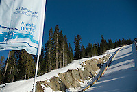 Sunny skies graced the World Cup Ski Jumping competition at Whistler Olympic Park on Sunday January 25, 2009