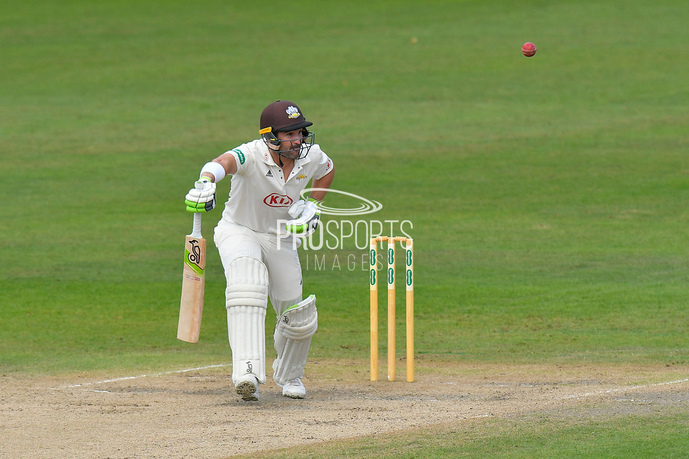 Dean Elgar of Surrey batting during the final day of the Specsavers County Champ Div 1 match between Worcestershire County Cricket Club and Surrey County Cricket Club at New Road, Worcester, United Kingdom on 13 September 2018.