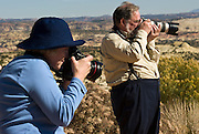 Photographers on Colorado Plateau, Utah, USA