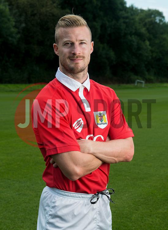 Bristol City's Wade Elliott  - Photo mandatory by-line: Joe Meredith/JMP - Mobile: 07966 386802 05/08/2014 - SPORT - FOOTBALL - Bristol - Ashton Gate - Press Day