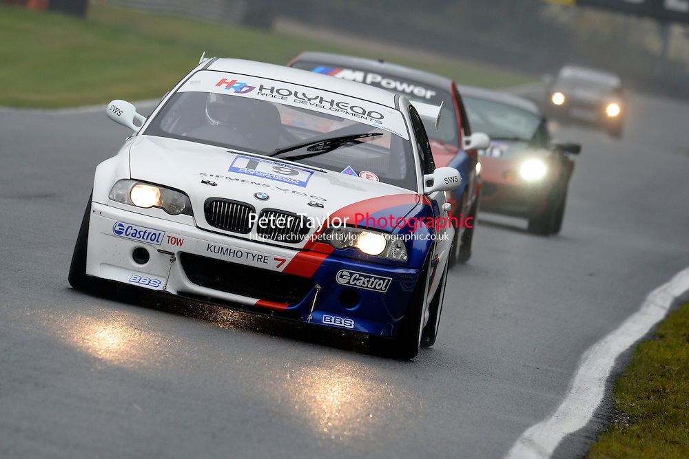 #19 Lavender / Tandy BMW M3 E46 3246 during the CSCC New Millennium and CSCC Modern Classics at Oulton Park, Little Budworth, Cheshire, United Kingdom. October 15 2016. World Copyright Peter Taylor/PSP. <br /> Copy of publication required for printed pictures.  Every used picture is fee-liable. http://archive.petertaylor-photographic.co.uk