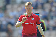 Sam Cook of Essex during the Royal London One Day Cup match between Hampshire County Cricket Club and Essex County Cricket Club at the Ageas Bowl, Southampton, United Kingdom on 23 May 2018. Picture by Dave Vokes.