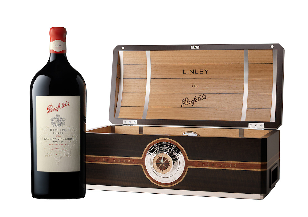 Penfolds Bin 170 Shiraz 2010 commemorative release for 170 years of winemaking