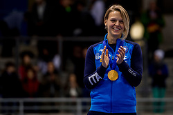 14-01-2018 DUI: ISU European Short Track Championships 2018 day 3, Dresden<br /> Arianna Fontana ITA # 9