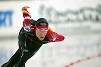 Skøyter, 9-10. november 2002. Verdenscupåpning, Vikingskipet, Jan Friesinger, Tyskland