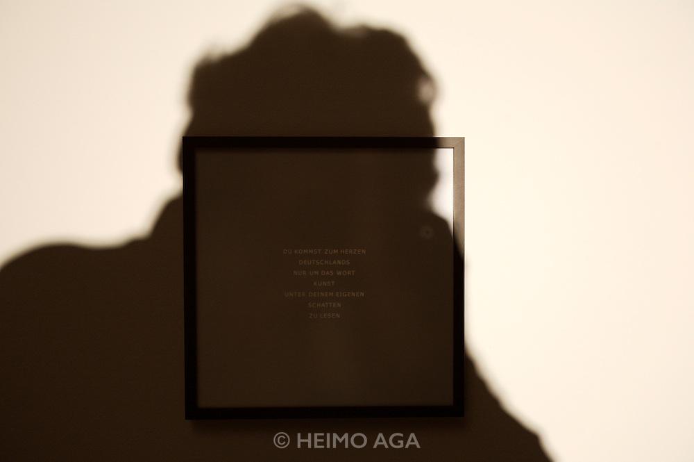 "documenta12. Neue Galerie. Gonzalo Diaz, ""Eclipsis"", Installation, 2007."