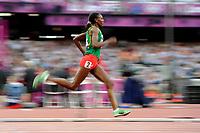 LONDON OLYMPIC GAMES 2012 - OLYMPIC STADIUM , LONDON (ENG) - 08/08/2012 - PHOTO : POOL / KMSP / DPPI<br /> ATHLETICS - WOMEN'S 1500 M - ABEBA AREGAWI (ETH)