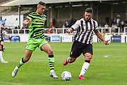 Forest Green Rovers Taylor Allen(12) on the ball during the Pre-Season Friendly match between Bath City and Forest Green Rovers at Twerton Park, Bath, United Kingdom on 27 July 2019.
