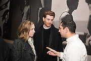 Frances von Hofmannsthal ; Rodolphe von Hofmannsthal., Vogue100 A Century of Style. Hosted by Alexandra Shulman and Leon Max. National Portrait Gallery. London. WC2. 9 February 2016.