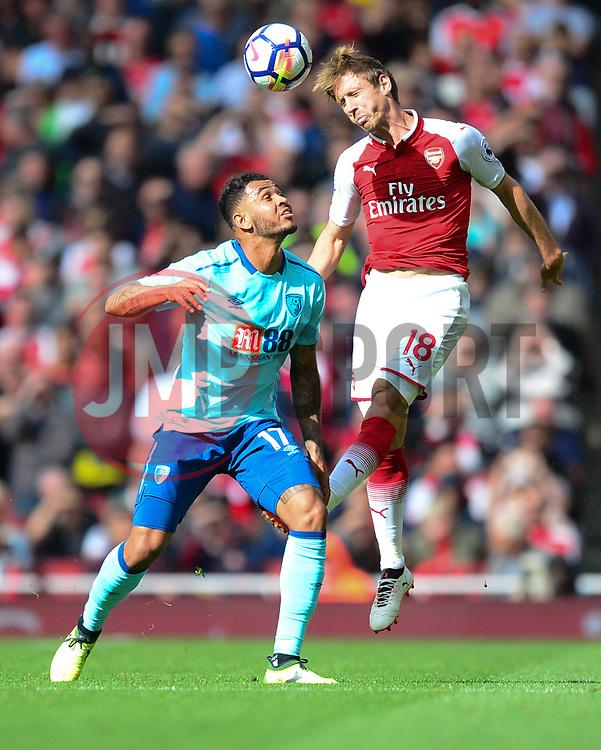 Nacho Monreal of Arsenal - Mandatory by-line: Alex James/JMP - 09/09/2017 - FOOTBALL - Emirates Stadium - London, England - Arsenal v Bournemouth - Premier League