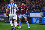 Felipe Anderson of West Ham United (8) in action during the Premier League match between Huddersfield Town and West Ham United at the John Smiths Stadium, Huddersfield, England on 10 November 2018.