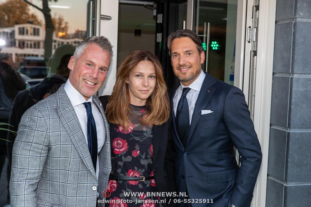 NLD/Amsterdam/20181005 - Benefietdiner Kluivert Dog rescue, ..........