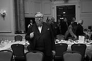SIMON HEFFER, Oldie Awards, Simpsons in the Strand. London. 29 January 2019