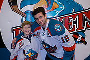 KELOWNA, CANADA - JANUARY 30:  Pepsi Player of the game with Dillon Dube (19) of the Kelowna Rockets at the Kelowna Rockets game on January 30, 2018 at Prospera Place in Kelowna, British Columbia, Canada.  (Photo By Cindy Rogers/Nyasa Photography,  *** Local Caption ***