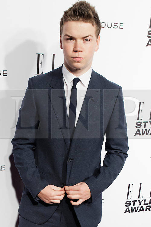 © Licensed to London News Pictures. 18/02/2014. London, UK. Will Poulter attends the ELLE Style Awards 2014 at One Embankment in central London. Photo credit : Andrea Baldo/LNP