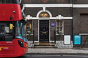 London, England, UK, February 5 2018 - Pushkin House, the UK's oldest independent Russian cultural centre in the Holborn area.