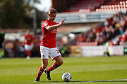 Swindon Town forward Eoin Doyle during the EFL Sky Bet League 2 match between Swindon Town and Macclesfield Town at the County Ground, Swindon, England on 14 September 2019.
