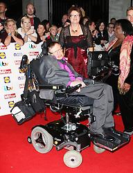 © Licensed to London News Pictures. 07/10/2013, UK. Stephen Hawking, Pride of Britain Awards, Grosvenor House Hotel, London UK, 07 October 2013. Photo credit : Richard Goldschmidt/Piqtured/LNP