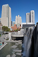 Waterfall, San Franciso Museum of Modern Art by Swiss architect, Mario Botta, San Francisco, California