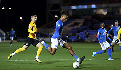 Ivan Toney of Peterborough United gets away from Jason Demetriou of Southend United - Mandatory by-line: Joe Dent/JMP - 11/02/2020 - FOOTBALL - Weston Homes Stadium - Peterborough, England - Peterborough United v Southend United - Sky Bet League One