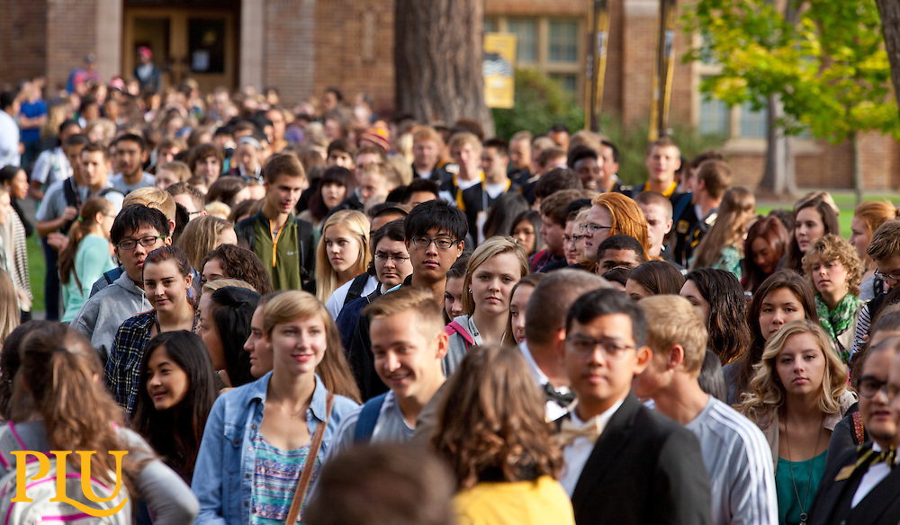 Convocation 2015 at PLU on Tuesday, Sept. 8, 2015. (Photo: John Froschauer/PLU)