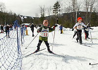 Gunstock Nordic Association's annual Paintball Biathlon Sunday, March 3, 2013.  Karen Bobotas/for the Laconia Daily Sun