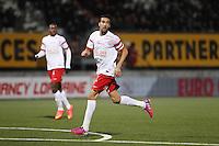 Youssouf HADJI  - 06.03.2015 - Nancy / Laval - 27eme journee de Ligue 2 <br />Photo : Fred Marvaux / Icon Sport