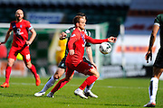 York City's Lewis Alessandra during the Sky Bet League 2 match between Plymouth Argyle and York City at Home Park, Plymouth, England on 28 March 2016. Photo by Graham Hunt.