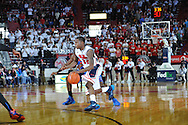 "Mississippi's Jarvis Summers (32) vs. Florida at the C.M. ""Tad"" Smith Coliseum in Oxford, Miss. on Saturday, February 22, 2014. Florida won 75-71.  (AP Photo/Oxford Eagle, Bruce Newman)"