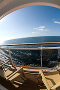 Balcony Cabine on a Cruise Ship