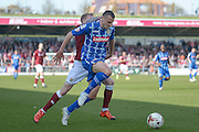 Notts County Defender Haydn Hollis during the Sky Bet League 2 match between Northampton Town and Notts County at Sixfields Stadium, Northampton, England on 2 April 2016. Photo by Dennis Goodwin.
