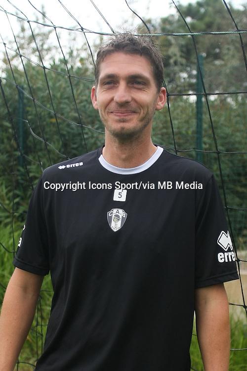 Jean Christophe LAMBERTI - 29.10.2013 - Photo Officielle - CA Bastia -<br /> Photo : Icon Sport