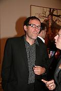 Dexter Dalwood, Georg Baselitz, Royal Academy. 18 September 2007. -DO NOT ARCHIVE-© Copyright Photograph by Dafydd Jones. 248 Clapham Rd. London SW9 0PZ. Tel 0207 820 0771. www.dafjones.com.