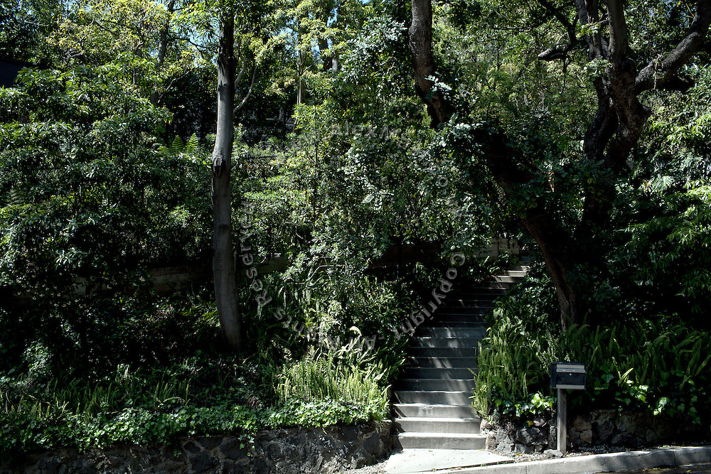 The house of Orlando Bloom and of his girlfriend model Miranda Kerr, on the Hollywood Hills in Los Angeles, was robbed by the Bling Ring on July 13, 2009. (NOT FOR PUBBLICATON: 2645 Outpost Drive, CA 90068, USA)