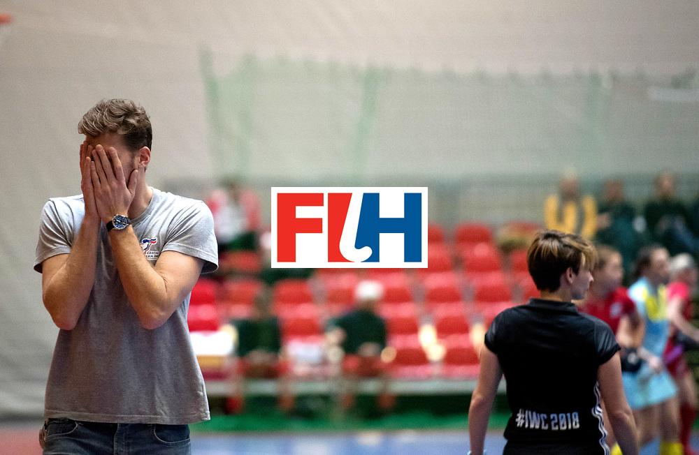 BERLIN - Indoor Hockey World Cup<br /> Women: Ukraine - Czech Republic<br /> foto: NEUSSER Filip<br /> WORLDSPORTPICS COPYRIGHT FRANK UIJLENBROEK