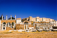 Basilica of St. John and Castle of St. John, Selcuk, Turkey
