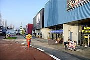 Nederland, Enschede, 13-12-2013Entertainmentboulevard Go Planet te Enschede. De funstreet van Twente. Vermaakscentrum Go Planet maakt een zieltogende indruk.Foto: Flip Franssen/Hollandse Hoogte