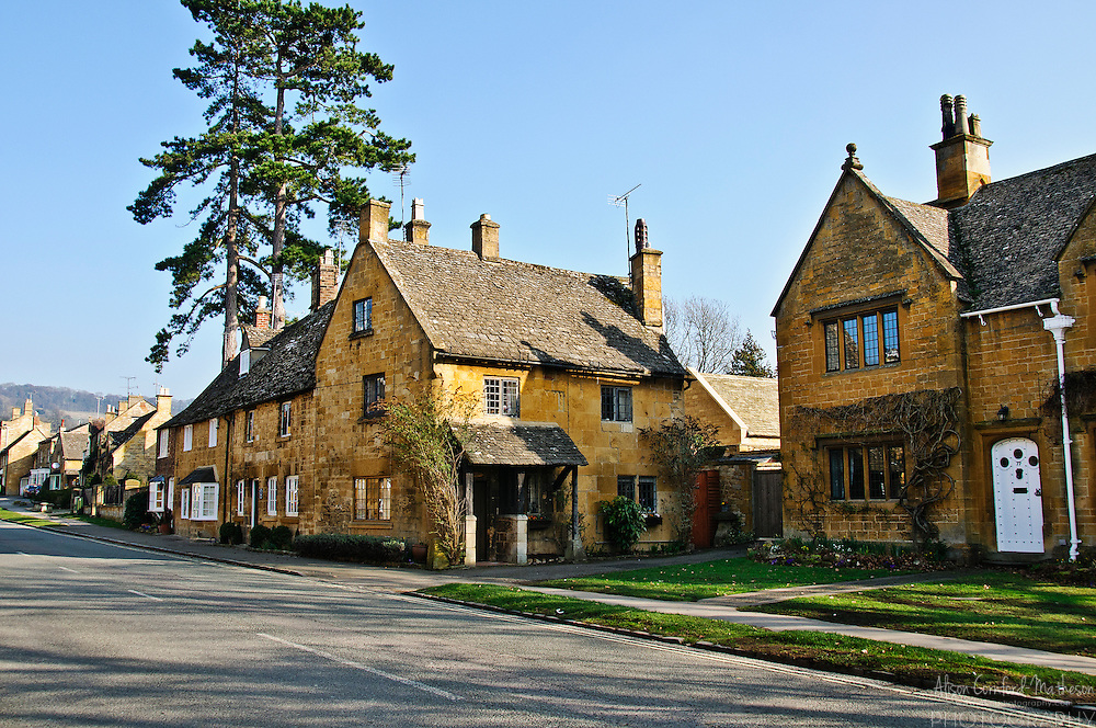 The Cotwolds is an area in England noted for its beautiful golden stone houses and pretty villages. The Cotswolds were designated an Area of Outstanding Natural Beauty (AONB) in 1966.