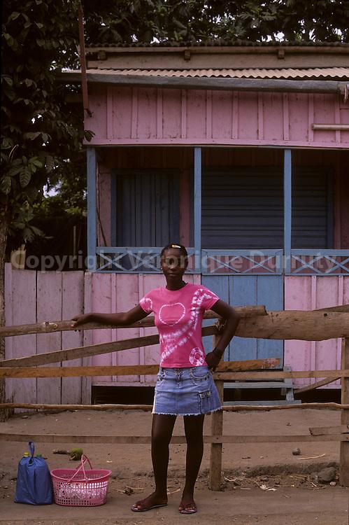 Pink And Blue Harmony, Sao Tome island, Sao Tome & Principe