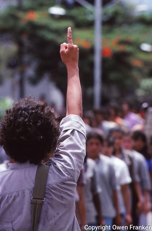 Nicaragua, sandinista rally