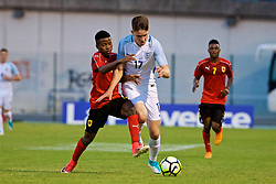 AUBAGNE, FRANCE - Monday, May 29, 2017: England's George Hirst during the Toulon Tournament Group A match between England U18 and Angola U20 at the Stade de Lattre-de-Tassigny. (Pic by David Rawcliffe/Propaganda)