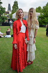 Left to right, Sienna Guillory and Laura Bailey at the Dulwich Picture Gallery's inaugural Summer Party, Dulwich Picture Gallery, College Road, London England. 13 June 2017.