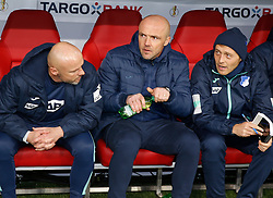 05.02.2020, Allianz Arena, Muenchen, GER, DFB Pokal, FC Bayern Muenchen vs TSG 1899 Hoffenheim, Achtelfinale, im Bild Hoffenheim Trainer Alfred Schreuder // during the German Pokal the round of last sixteen match between FC Bayern Muenchen and TSG 1899 Hoffenheim at the Allianz Arena in Muenchen, Germany on 2020/02/05. EXPA Pictures © 2020, PhotoCredit: EXPA/ SM<br /> <br /> *****ATTENTION - OUT of GER*****