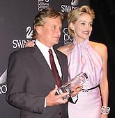 Michael Douglas & Sharon Stone 02/17/2009
